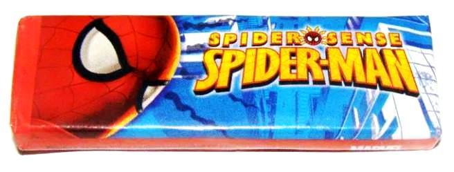 Человек паук жвачка.