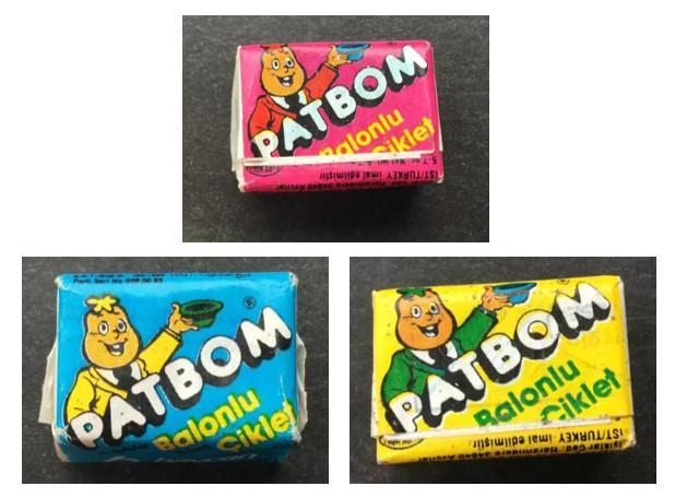 Подборка жвачек PatBom