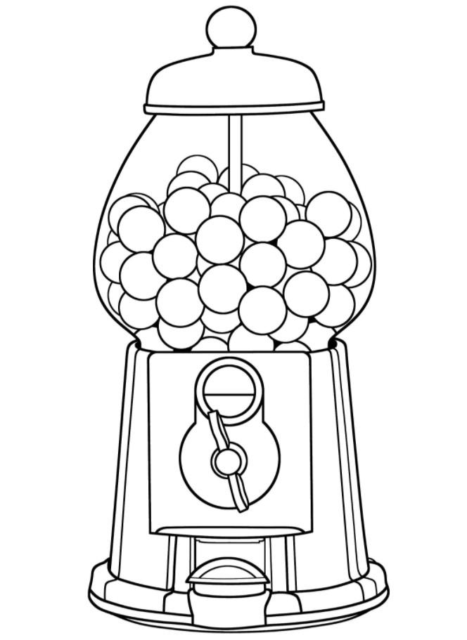 автомат с жвачками