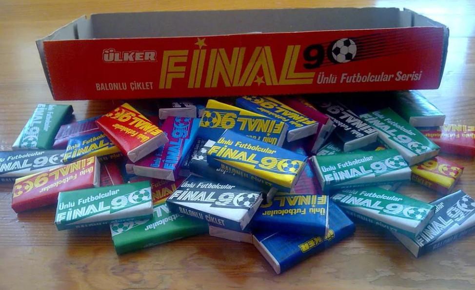 Жвачка Final 90