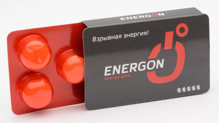 Жвачка энергон в таблетках