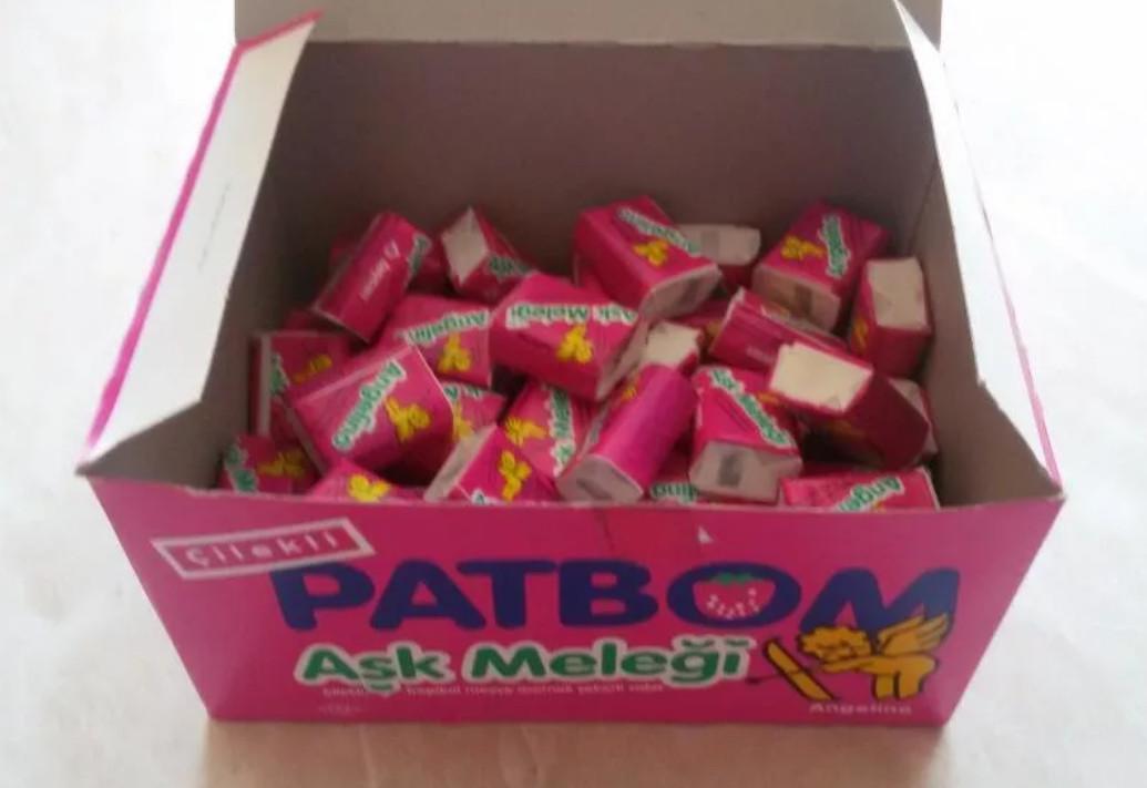 Жвачка Patbom в коробке