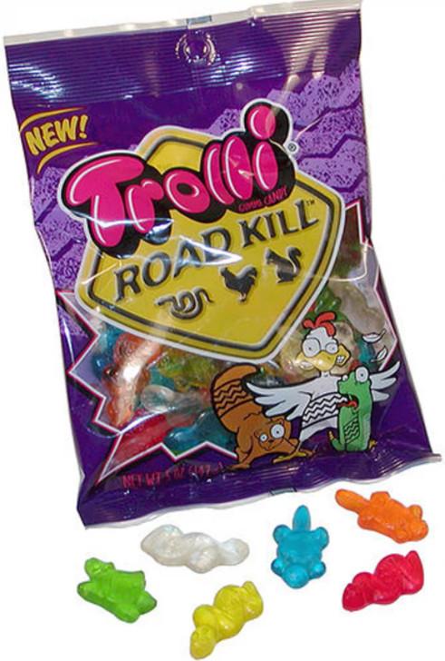Trolli Roadkill Gummi Candy